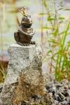 Rottenecker Bronzefigur FroschkönigHermann, wasserspeiend