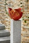 Rottenecker Feuerschale Flamme, Bronze, rot patiniert