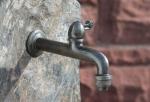 Rottenecker Bronze-Wasserhahn 20cm