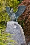 Rottenecker Drachenvogel Saphira, wasserspeiend