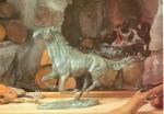 Rottenecker Bronzefigur Pferd