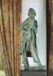 Rottenecker Bronzefigur Clown, wasserspeiend