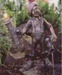 Rottenecker Bronzefigur Wezelin, wasserspeiend