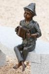 Rottenecker Bronzefigur Anton, wasserspeiend