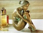 Rottenecker Bronzefigur Jeanette