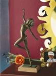 Rottenecker Bronzefigur Chantal klein