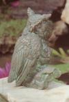 Rottenecker Bronzefigur Waldohreule mit Kind, groß