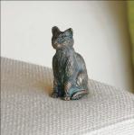 Rottenecker Bronzefigur Katze mini