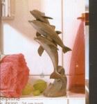 Rottenecker Bronzefigur Delphine klein