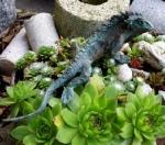 Rottenecker Bronzefigur Gecko