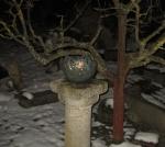 Rottenecker Feuerschale groß, grün patiniert, D 33 cm