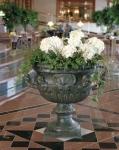 Rottenecker Jardinière Bari Kelch Vase, Bronze, D 77 cm