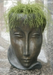 Rottenecker Pflanzkübel Feminin Bronze D 31 cm