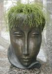 Rottenecker Pflanzkübel Feminin klein Bronze D 27 cm