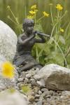 Rottenecker Bronzefigur Tina, wasserspeiend