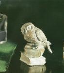 Rottenecker Bronzefigur Eule auf Buch klein