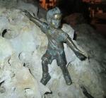 Rottenecker Bronzefigur Kalle mini